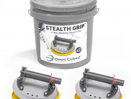Stealth Grips with storage bucket